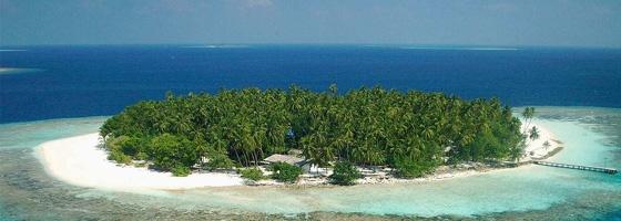 Island in India